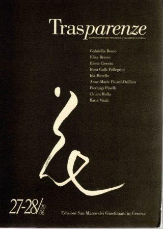 trasparenze romanzo francese