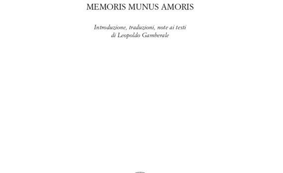 Bandini - Memoris unus amoris